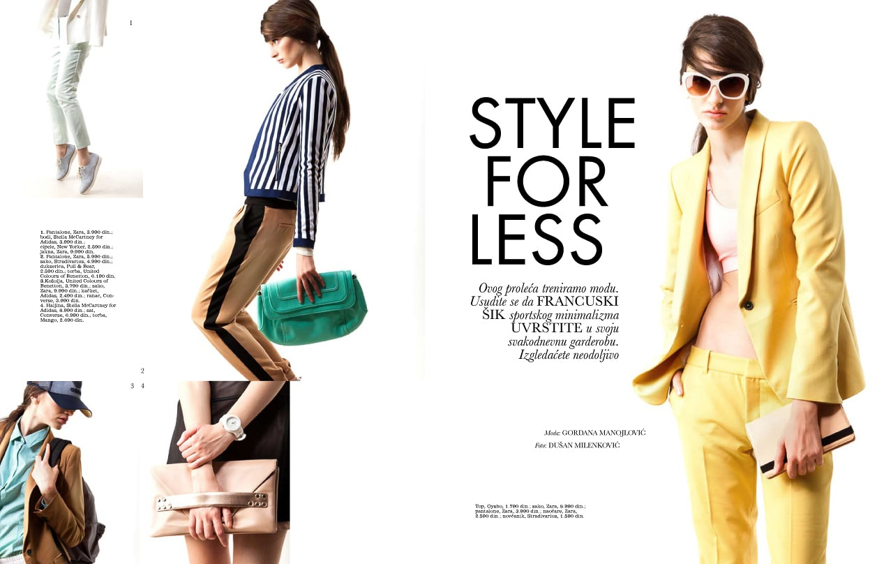 Elle Style For Less April '13