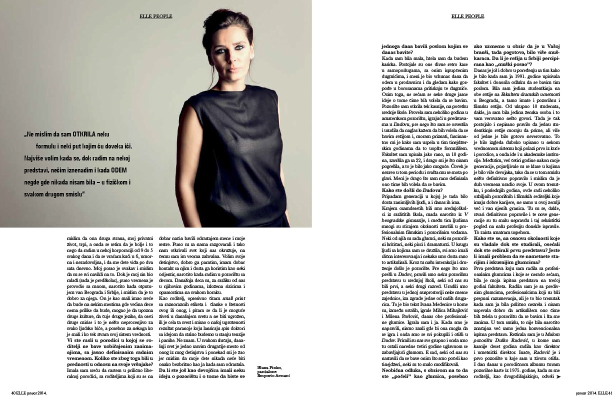 Elle Interviews