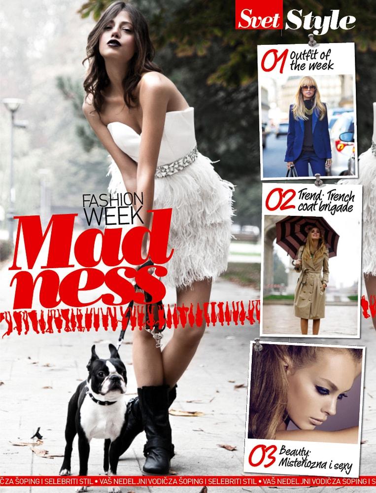Svet & Style Fashion Week Madness