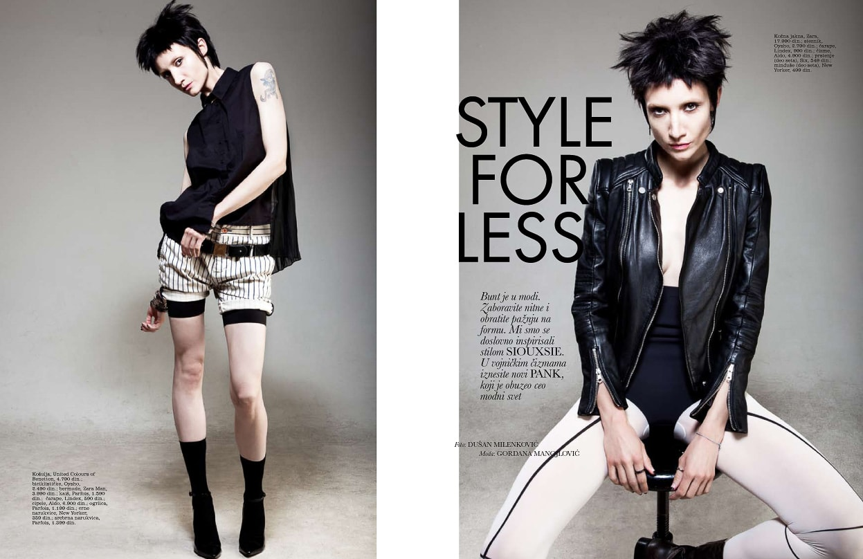 Elle Style For Less July '13
