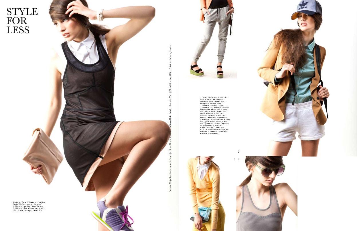 Elle Style For Less April '13