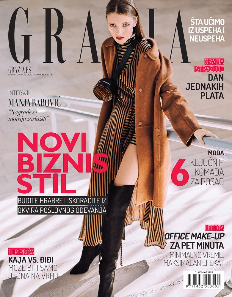 Grazia, november '18