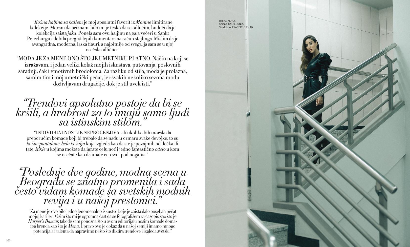 Harper's Bazaar, October '18